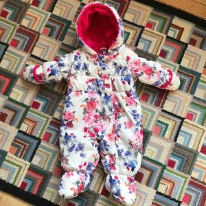 S. Rothschild & CO baby girl snowsuit, 3-6 months